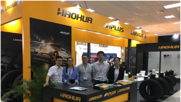 Haohua Tire Group attended the 7th Panama international tyre show