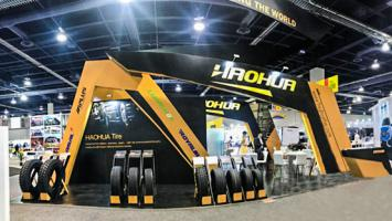 SHANDONG HAOHUA TIRE CO.,LTD IN SEMA SHOW 2018